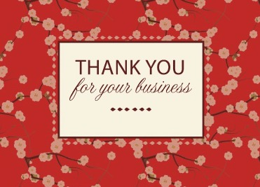 Business greeting card helps show gratitude for your clients our business greeting card program helps you say thank you and happy birthday to clients reheart Image collections